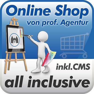 Online-Shop / Onlineshop mit CMS -all incl. vom Profi- f. Tierbedarf, Tierfutter
