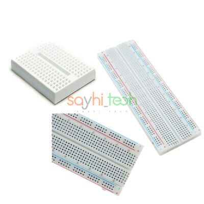 Durable Mb 102 Mb102 830 170 Tie Point Breadboard Solderless Pcb Board Test