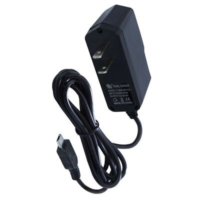 Black Home Travel Charger - Black 800mAh Micro USB Home / Wall / Travel Charger