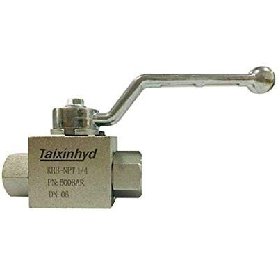 Taixinhyd Hydraulic 14npt 7250 Psi Khb High Pressure Ball Valve Industrial