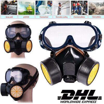 Schutzmaske Gasmaske Industrial Chemical Respirator Schutzbrille ABC Filter
