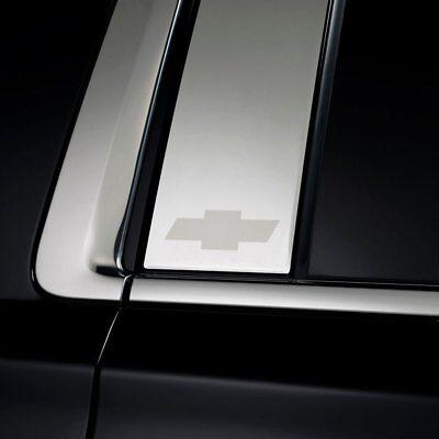 For Chevy Silverado 2500 HD 07-14 Putco GM Licensed Polished Pillar Posts