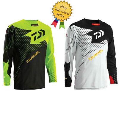 Fishing jerseys MEN Quick-Drying Anti-UV Daiwa Shirts Sports Clothes Long Sleeve