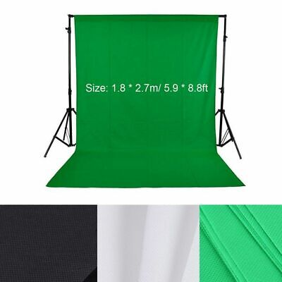 Green Screen Studio Photo Video Background Stand Backdrop Set FREE SHIPPING Free Green Background
