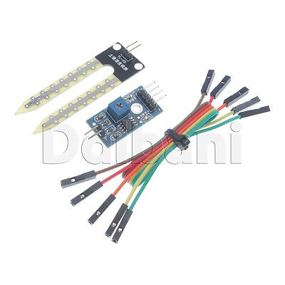 Soil Hygrometer Humidity Detection Module Moisture Sensor Arduino Compatible