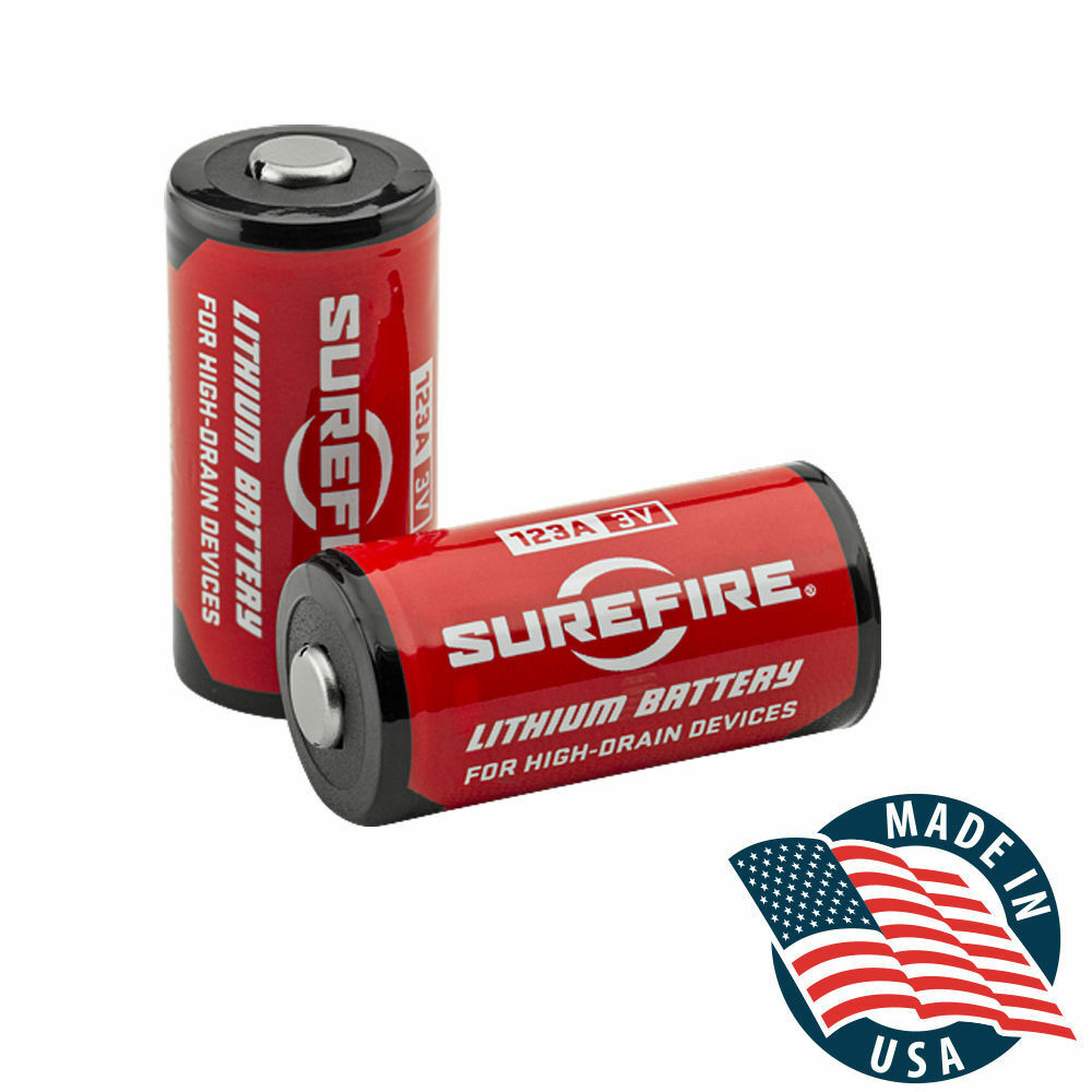 Surefire SF12-BB Box of 12 123A 3 Volt Lithium Batteries 12-