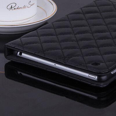 Luxury Slim Smart Wake Sleep PU Leather Case Flip Cover for Apple iPad mini 4