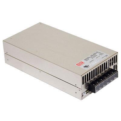 Mean Well Se-600-48 Ac Dc Power Supply Single Output 48 Volt 12.5 Amp 600 Watt