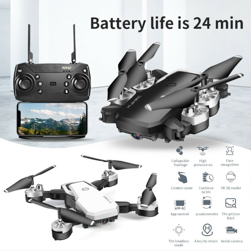 720P/1080P/4K HD Camera RC Drone Wifi FPV Foldable Arm RC Quadcopter Aircraft UK