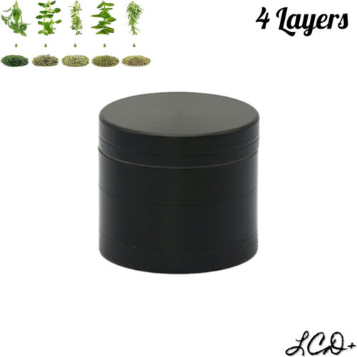 """1.5"""" Tobacco Herb Grinder Spice 4 Layers Smoke Crusher Metal Chromium Alloy US"""
