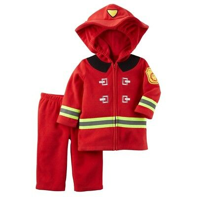 Carter's Infant Toddler Baby Halloween Costume Fire Fighter Fireman 12 months - Toddler Fireman Halloween Costume