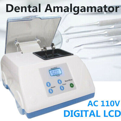 Dental Hl-ah Speed Amalgamator Amalgam Capsule Mixer Blender Device Digital Lcd