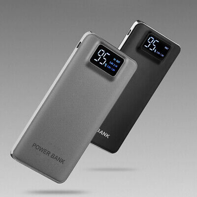 LCD Digital 50000mAh 2USB LED Power Bank Portable Battery Charger For -