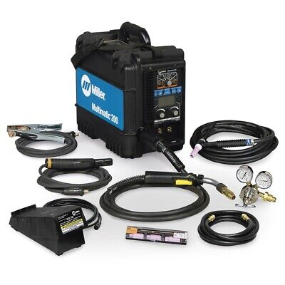 Miller Multimatic 200 Migstick Welder With Tig Kit - 951649