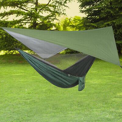 Hammock Rain Fly Tent Tarp Waterproof Camping Sun Screen Sha