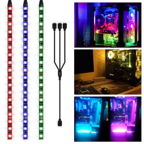2X/3X 30cm RGB Gaming LED Strip Light 5050 SMD for Asus Aura