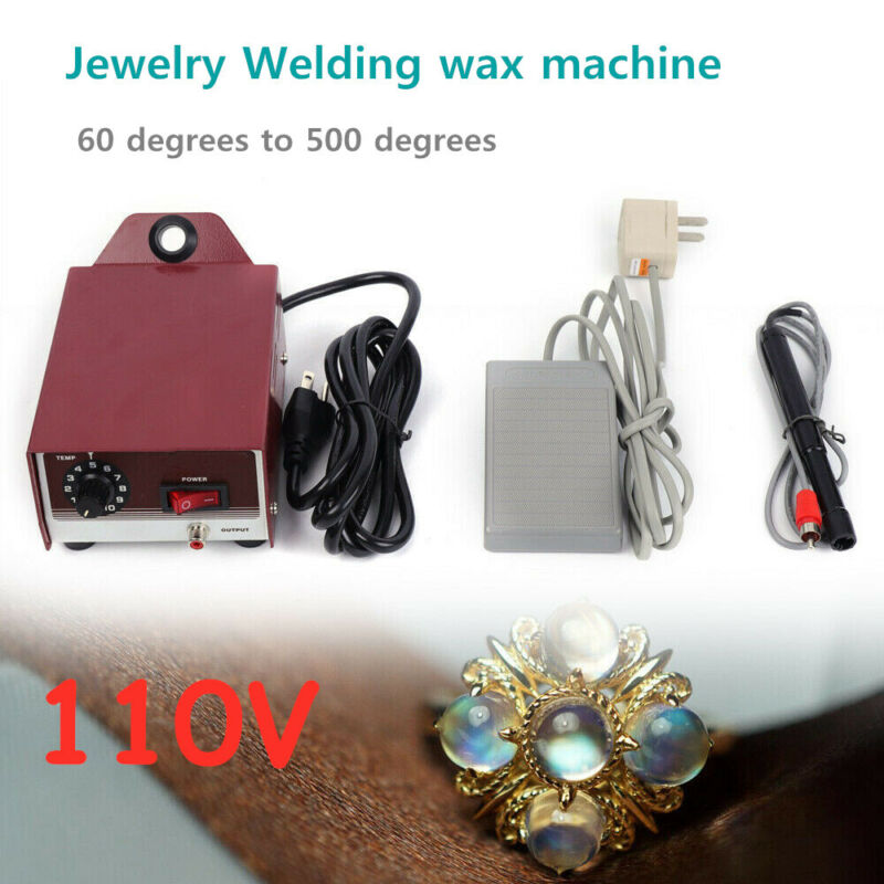 Professional Jewelry Tool Luxury Wax Welder Jewelry Welding Wax Soldering Tool