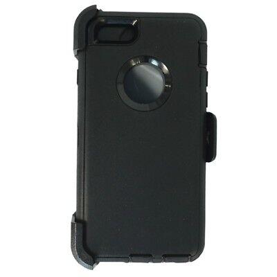 For iPhone 6 Plus / 6S Plus Defender Case w/Belt Clip fits Otterbox Black