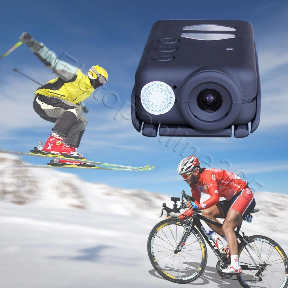 1080P HD Mini Auto Record with Power Mobius ActionCam Sports Camera Camcorder