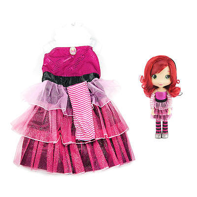 NEW Strawberry Shortcake Doll and Toddler Dress Costume Play Set 4-6X Retired](Cinderella Doll And Toddler Dress)