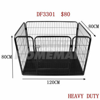 New Heavy Duty Pet Dog Cat Rabbit Playpen Enclosure Exercise Cage Richlands Brisbane South West Preview