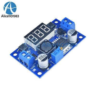 Lm2596 Buck Step-down Power Converter Module Dc 4.040 To 1.3-37v Led Voltmeter