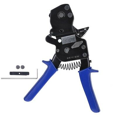 Pex One Hand Cinch Clamp Tool Ratchet Pinch Crimper Wrench 38-1 Pinch Clamp