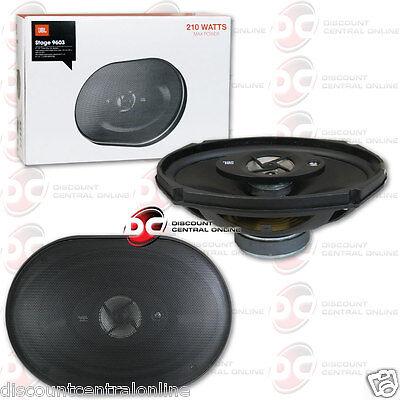 JBL Stage 9603 6 x 9 3-Way 210 Watts 4 Ohm Car Audio Speaker