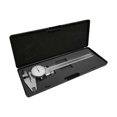 Stainless Steel Metric Dial Caliper 150mm0.02mm Precision Graduation Shockproof