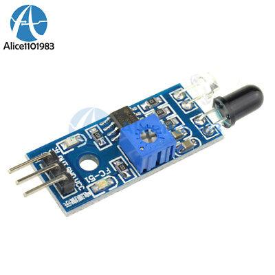 5pcs Car Obstacle Avoidance Infrared Sensor Module Reflective Photoelectric