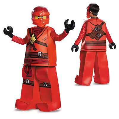 Boys LEGO Ninjago Prestige Kai Halloween Costume - Red Ninjago Halloween Costume