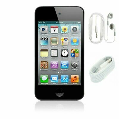 Apple iPod Touch 4th Generation Black (8 GB) - Tested - Bundle -