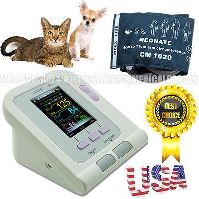 Vet Veterinary Oled Digital Blood Pressure Heart Beat Monitor Nibp Us Seller