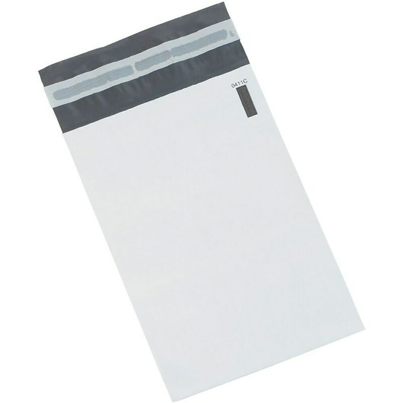 "Staples Poly Mailers 24"" x 36"" White 100/Case CW56633"