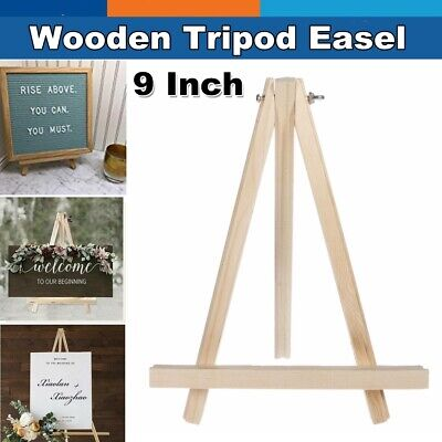 Mini Easel Stand (Small Wooden Mini Easel Wood Tabletop Dispaly Art Table Top Stand)