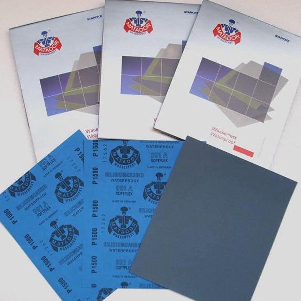 Dry or Wet Sandpaper 9 x11/'/' 80//120//320//400//600//800//1000//1200//1500//2000 Grits