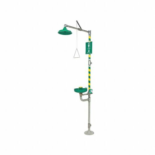 Haws 8320-8325 Emergency Shower and Eye Wash Station Combo Unit
