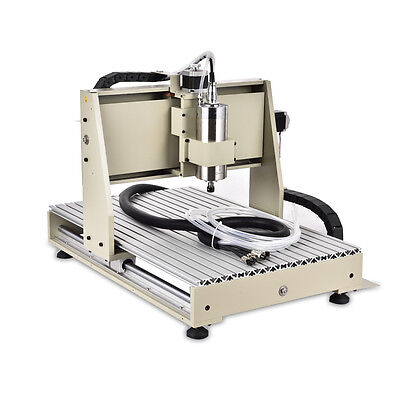 3axis Cnc Router 6040t Engraver 1.5kw Vfd Metal Cutter Engraving Machine Rc