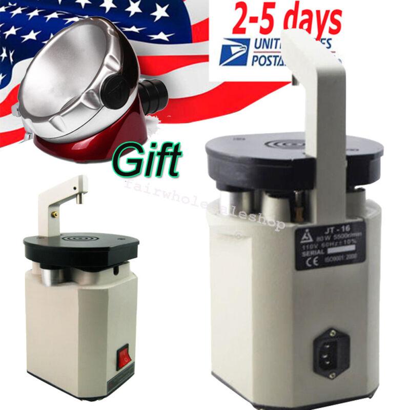 7800rpm Low Noise Dental Lab Equipment Laser Pindex Drill Driller +Soction base