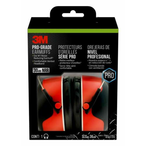 3M Professional Earmuff Shooting/ Work Hearing Protection 30db Noise Reduction