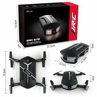 G-Sensor 720P Camera JJRC H37 RC Baby ELFIE Quadcopter Selfie Drone+Battery RC