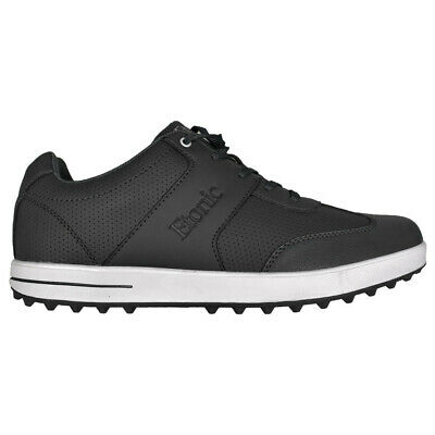 - NEW Mens Etonic Comfort Hybrid Waterproof Golf Shoes Black/White- Choose Your Sz