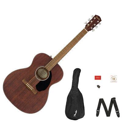 Fender CC-60S Concert Pack V2, Acoustic Guitar Pack All Mahogany (used)
