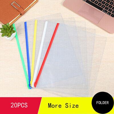 Folder A4 A5 A3 B6 Plastic File Storage Document Folder Protective Wallet Sleeve