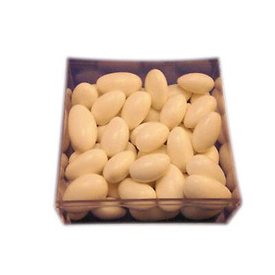White Jordan almonds wedding favors candy 2-1/2 pounds](White Jordan Almonds)