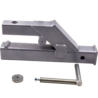 2 Clamp On Trailer Receiver Hitch For Bobcat Deere Tractor Bucket 18 Length