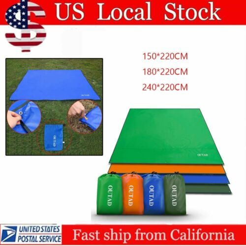 Waterproof Camping Tent Tarp Shelter Hammock Cover Lightweight Rain Fly HN