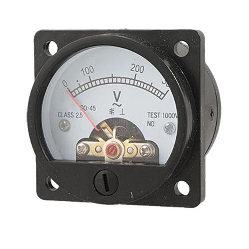 12 Volt Dc Amp Meter Analog : C analog current panel meter dc a amp ammeter lw szus