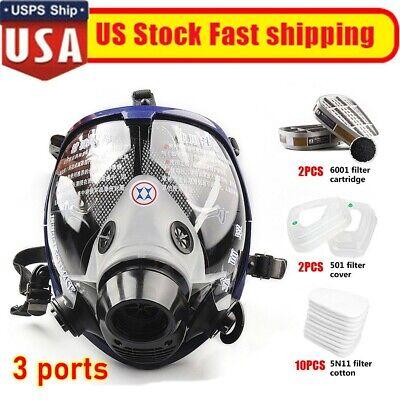 Facepiece Respirator Full Face Similar 6800 Gas Mask Suit For Painting Spraying
