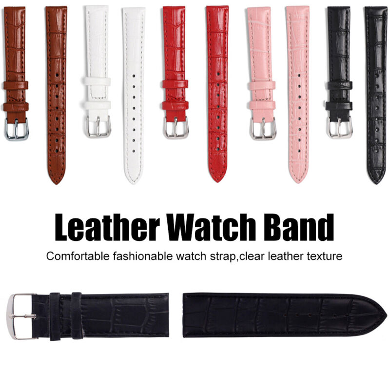 Soft Steel Buckle Sweatband Watch Band Strap Sports Belt Wri